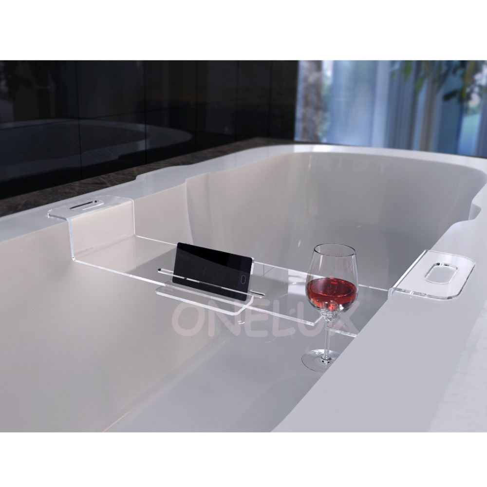 High Transparency Acrylic bathroom mobilephone/ipad/wine glass ...