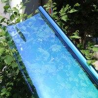 60''x40'' Heat Reduction Chameleon Car Side Rear Window Solar Film UV Proof 55%VLT