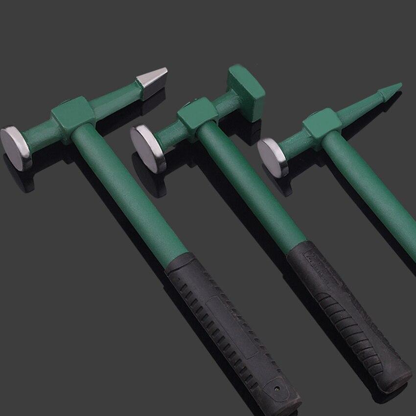 Auto Body Repair Panel Beating Hammer Straight pein finish crowned workshop sheet metal hammer tools car bodywork dent beat