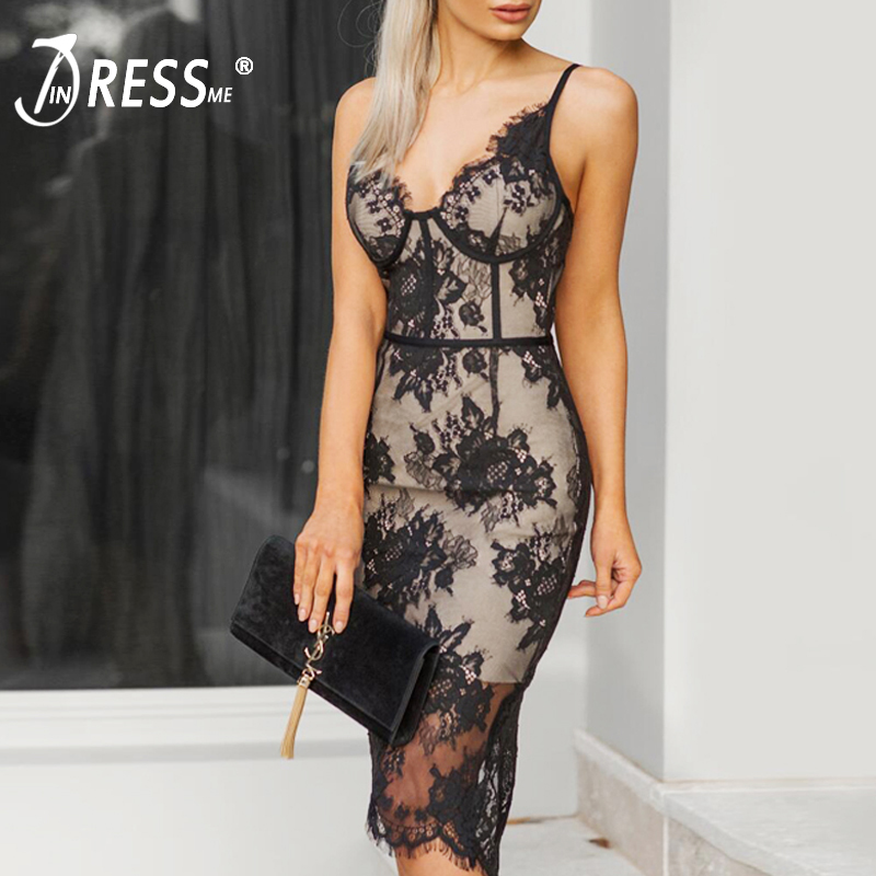 Weddings & Events Leiyinxiang New Arrival Evening Dress Sexy Trumpet Vestido De Festa V-neck Backless Appliques Lace Custom Made Acetate Popular
