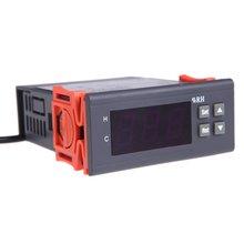 Mylb-нержавеющая 10A 12V Мини цифровой контроллер датчик влажности воздуха Диапазон измерения 1%~ 99
