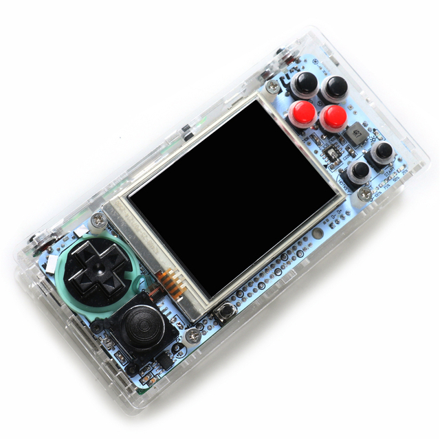 US $69 63 25% OFF For Gameberry Retropie Lakka Retro Pie Raspberry Pi 2 8  Inch PiX Portbable Handled Game Console Retro Game Module HD Screen-in