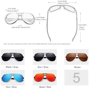 Image 3 - KINGSEVEN מותג עיצוב חדש מקוטב משקפי שמש ללא מסגרת גברים נשים נהיגה טייס מסגרת שמש משקפיים זכר Goggle UV400 Gafas דה סול