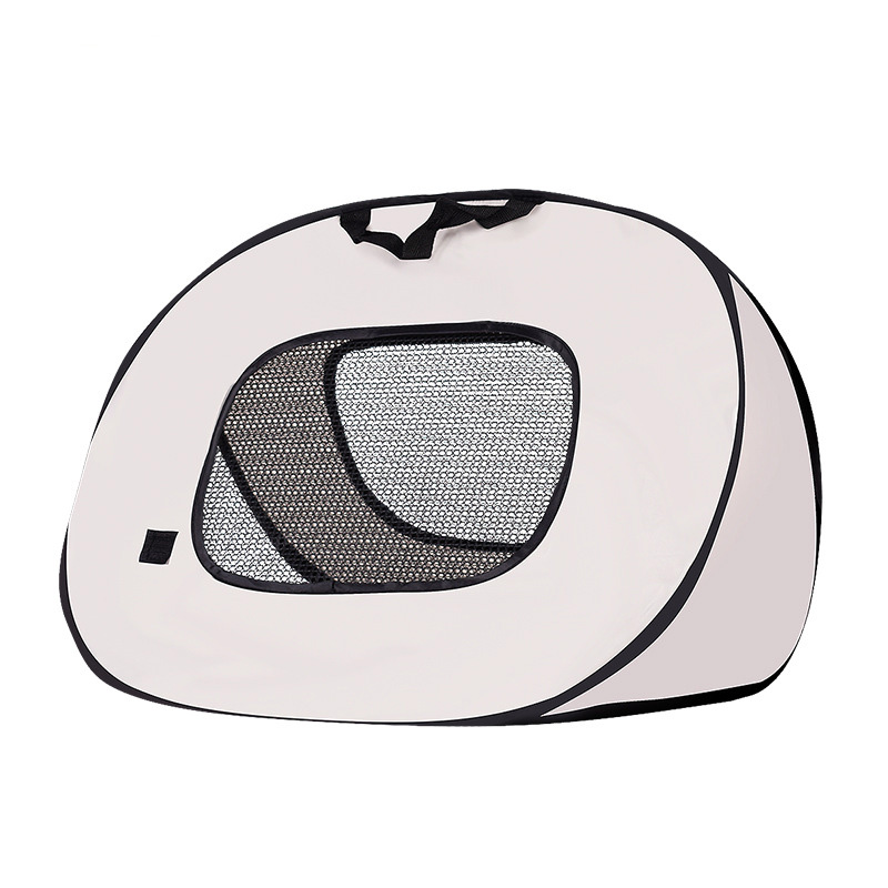 Pet Cat Carrier Bag Cage Portable Collapsible Multi-functional Tent Shape Design Patrern Folding Easily for Dog Cat 7