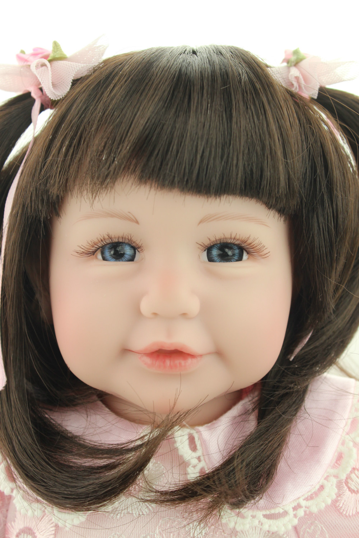 2016 20inch ,50cm new design Reborn toddler  Adora girl doll  cute baby doll Birhtday Gift Toys for Girls adora toddler doll soft silicone reborn baby doll cute 20 inch 52cm baby reborn for kids birthday giftbaby reborn