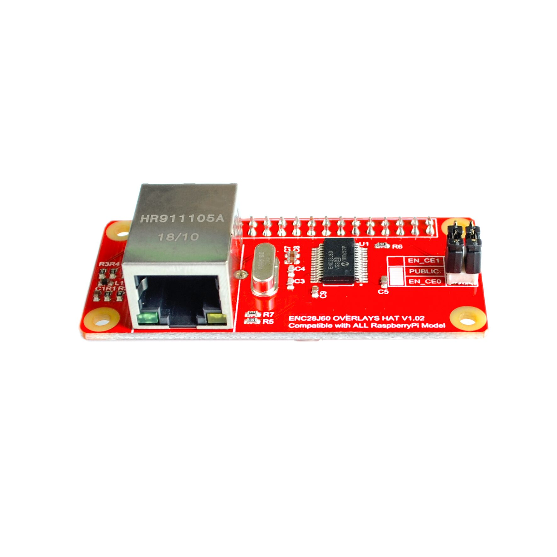 ENC28J60 Network Adapter Module for Raspberry Pi ZeroENC28J60 Network Adapter Module for Raspberry Pi Zero