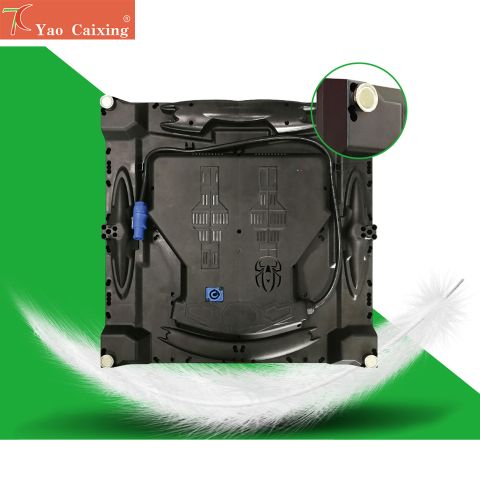 Smd2121 480*480mm Nano Composite Cabinet Led Screen Hub75 Dot Matrix Rgb P2.5 Indoor High Resolutions Led Display Tv