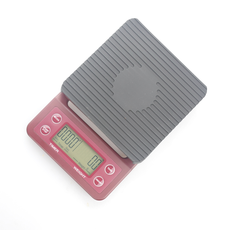 Home Multi Function Electrical V60 Coffee Scale With Timer 0.1-3000G Barista Tool Portable Mini Drip Scale Baking Lcd,Hand-washe