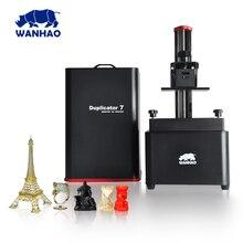 2017 neue D7 V1.4 um V1.5 Wanhao D7 Duplizierer 7 UV harz 3d-drucker SLA DLP 3D Drucker für verkauf nur $399 250 ml Harz geschenk