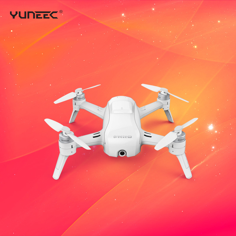 Yuneec Breeze Selfie Drone With 4K HD Camera APP Control RC Quadcopter Drone pk Ehang V2.0 ghost DHL EMS Free