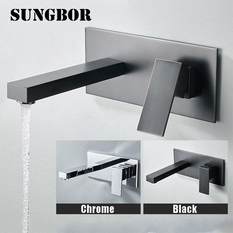 Free Shipping Brass Thermostatic Faucet Bathroom Shower Faucets Wall Mounted Bathtub Mixer Bath torneira banheiro GI926