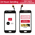 Original Tested 4.3 inch Touchscreen For Samsung Galaxy J1 TOUCH J100 J100F J100H Touch Screen Glass Panel Black Free Adhesive