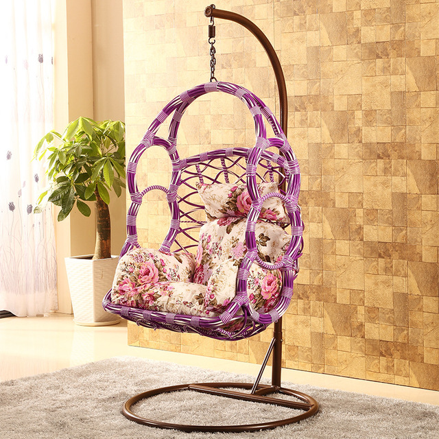Children Swing Hanging Chair Basket Cane Chair Adult Indoor Swing