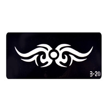 One Piece Airbrush Body Stencils For Painting Template Henna Tattoo Stencils For Hands Stencil Tatouage T001-B20 EE