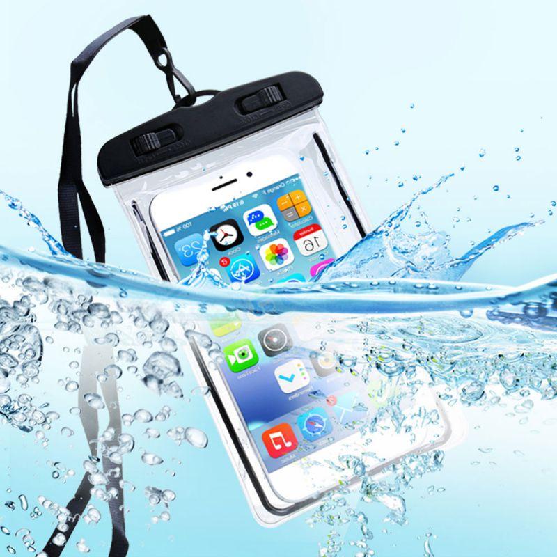Universal Waterproof Phone Case Swim Bag Lite Bag Swim Waterproof Pouch Phone Storage Case Cover(China)