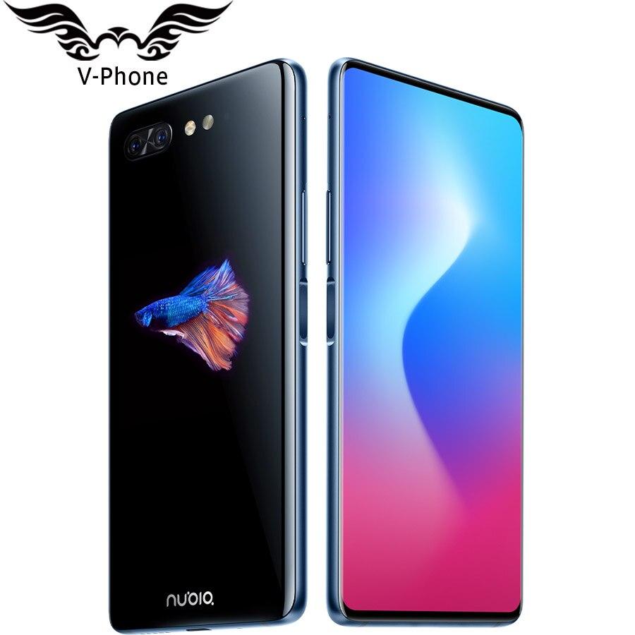 ZTE Nubia X Double Affichage 4G smartphone ite 6.26 5.1 Snapdragon 845 6 GB 64 GO Double Caméra 24MP 16MP 2 Écran téléphone portable