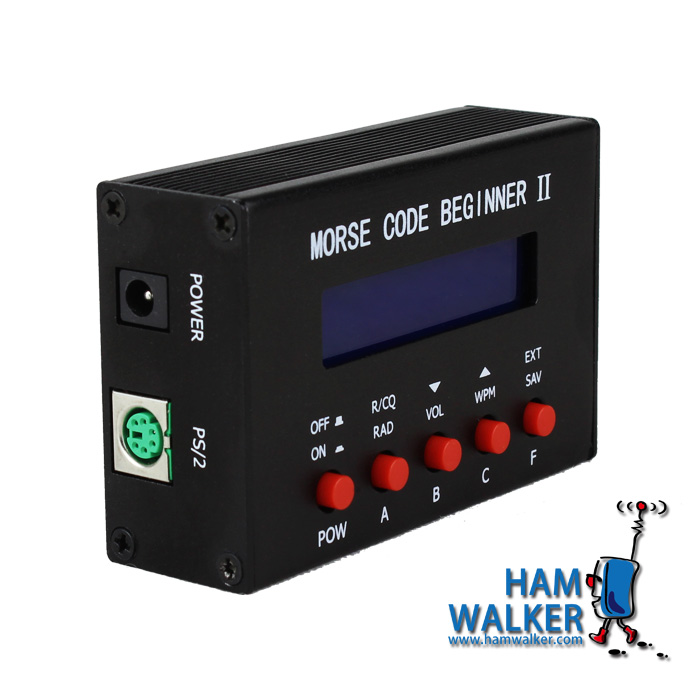 NEW CW keyer trainer Morse code trainer telegraph platform-in Amplifier from Consumer Electronics    1