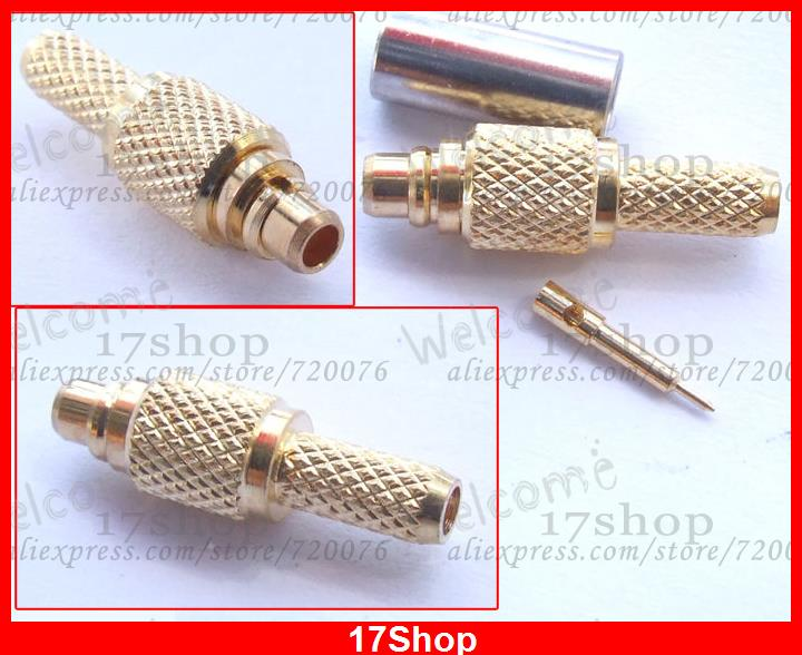 50 RG174 RG316 RG188 connector MMCX male straight crimp стоимость