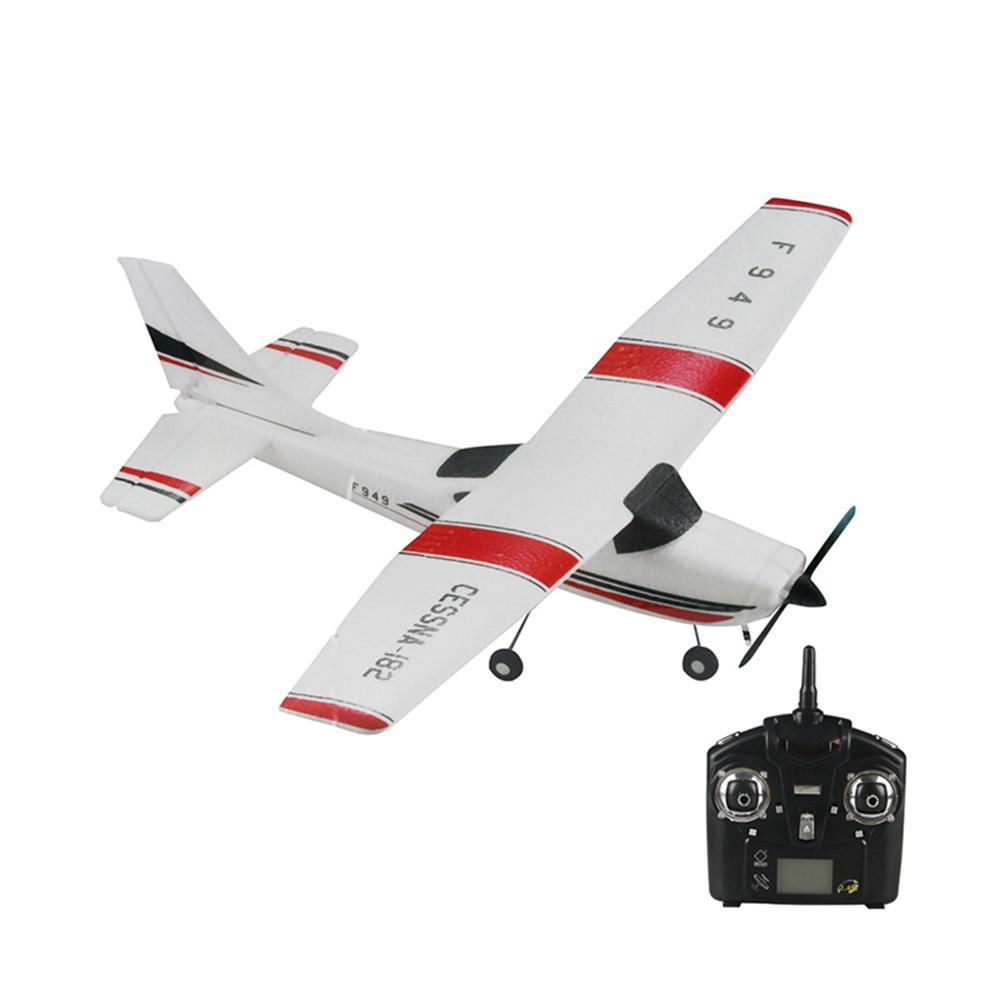 1:28 Cessna 182 Remote Control Propeller Airplane 3 Channel Fixed Wing RC Aircraft Outdoor Park Parent child Glider Plane Toys