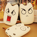 DCAE Real 8000mAh Cute 3D Cartoon Power Bank Dual USB External Battery Portable Charger For Cell Phone digital product
