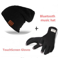 Bluetooth Beanie Smart Winter Knit Music Hat Wireless Headphones Earphones Unique Christmas Tech Gifts For Teen
