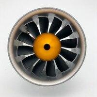 Freewing 90MM metal EDF set 6S 4068 1835 inrunner motor or 4075 1390KV inrunner motor 8S for 90mm rc plane Freeshipping