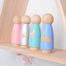 1 шт. INS в скандинавском стиле деревянные колышки для кукол натуральные деревянные украшения декоративные для детской комнаты украшения для фотосъемки