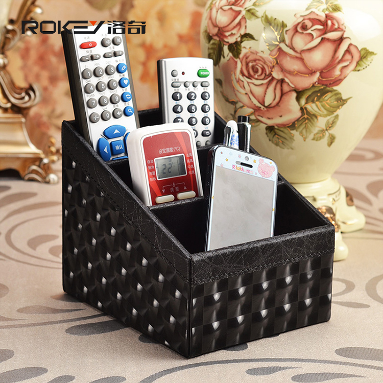 Rocky Black Lightning grain storage box remote control storage box Creative Desktop simple European style garden
