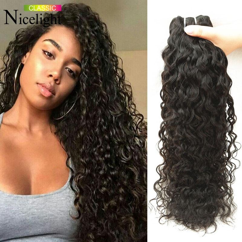 Malaysian Water Water Virgin Hair 3PCs Malaysian Curly Virgin Hair ...