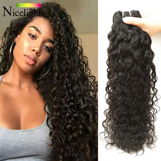 Malaysian Water Water Virgin Hair 3pcs Malaysian Curly