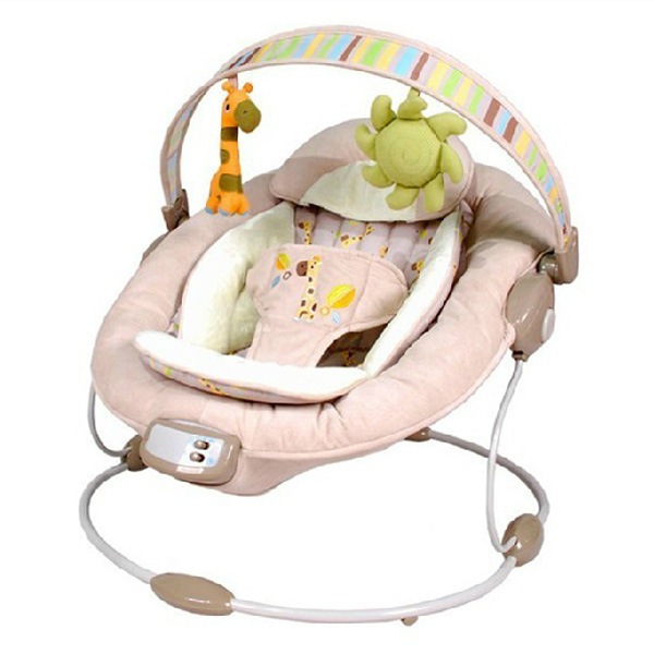c90d4348481 Free shipping Bright Start Vibrating Baby Bouncer Swing Comfort   Harmony  Cradling Recliner Automatic Baby Rocking