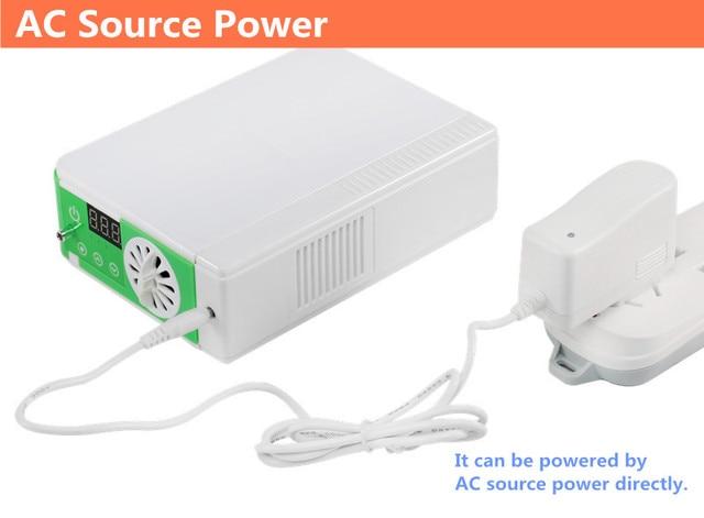 DC12V Li Battery Oxygen Concentrator Health Care Medical Car Use 110V 220V Mini Portable Oxygen Generator O2 Making Machine 8