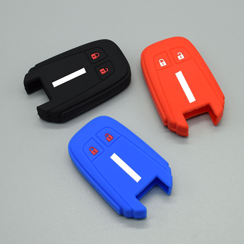 Silicone Car Key Fob Cover Case Set  Holder For ISUZU D-MAX MUX Truck DMAX Smart 2B Remote Keyless Rubber Protect Shell