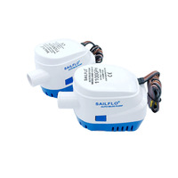 Automatic Submersible Bilge Water Pump 1100GPH 12V 24V With Switch Auto Electric Motor Boat Aquario Filter