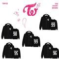 KPOP Korean Fashion Twice Album MOMO Cheer Up Cotton Zipper Hoodies Clothes Zip-up Sweatshirts