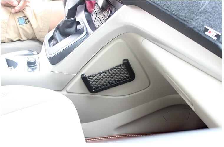 Car mesh accessories. Conveniently placed items goods Cell phone. for Cadillac ATS-L XTS CT6 Plug-in XT5 ESCALADE STICKER