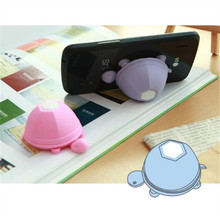 Universal Turtle Earphone Winder Silicone Smartphone Holder Multifunction Mobilephone Sucker Stand for iphone 7 Xiaomi  Samsung