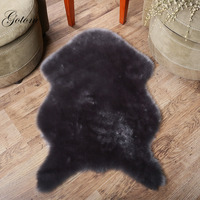 Super Soft Faux Fur Fake Sheepskin Carpet Luxurious Fluffy Shaggy Area Rug Sofa Chair Armchair or Couch Cover fur rug