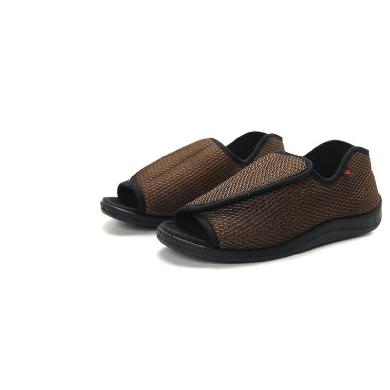 Diabetes Shoes Men Casual Diabetic Foot Shoes Diabetic Shoes Women Men Diabetic Shoes Front Opening Breathable Flat Shoes
