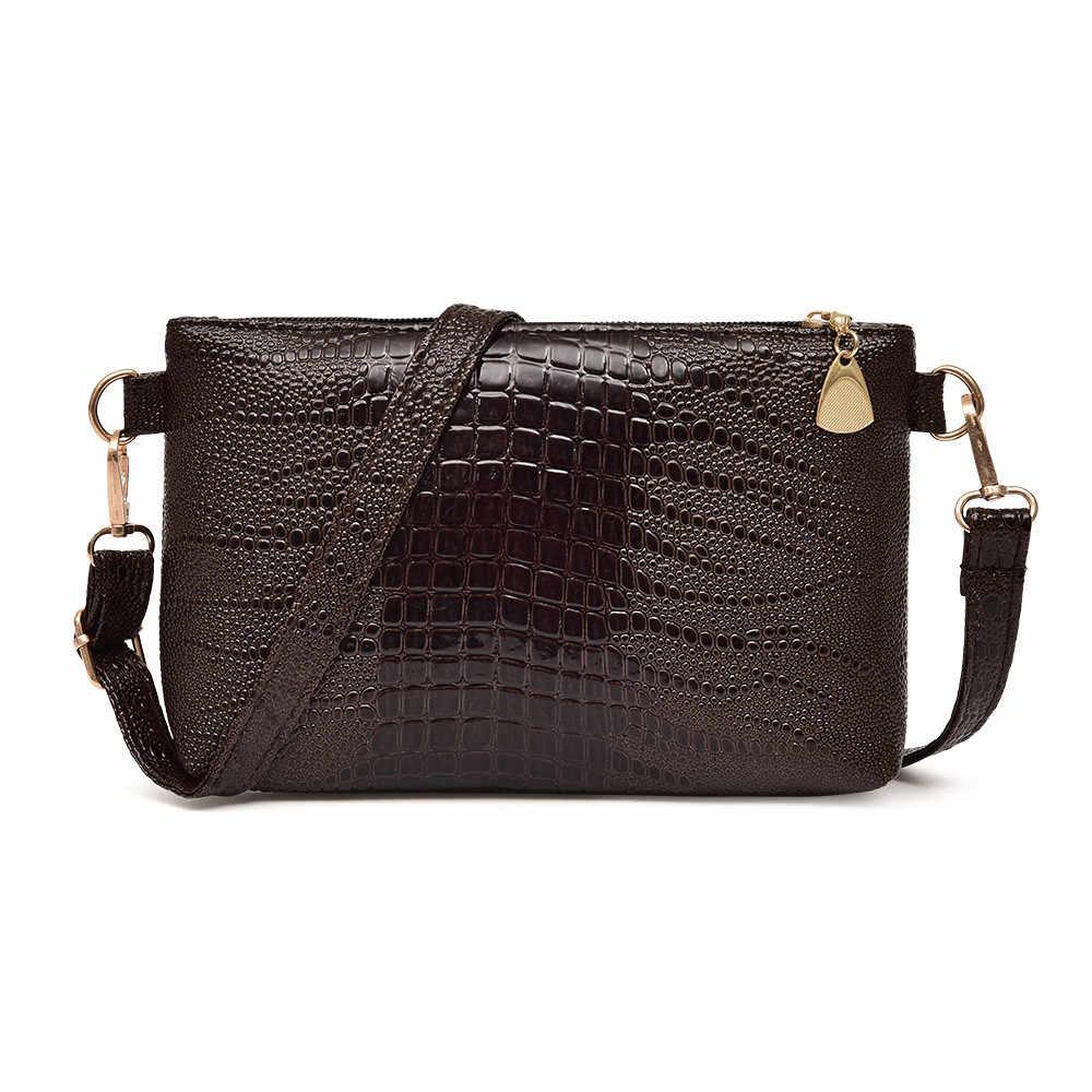 Sacos do mensageiro de couro das mulheres ombro famosa marca moda borla pequenas bolsas crocodilo mini saco crossbody bag3.03 (25