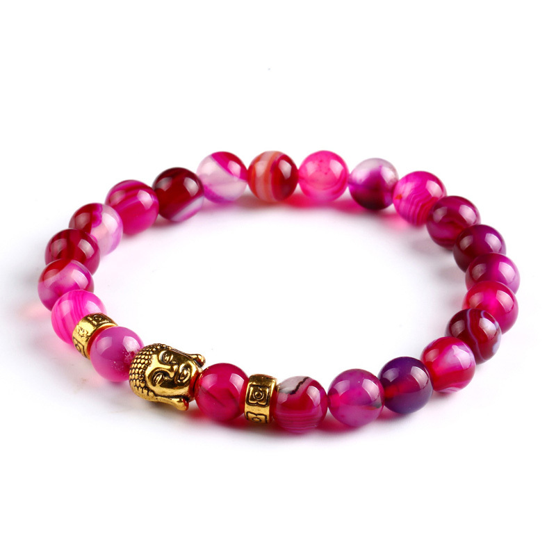 Tiger eye beads bracelet natural stone for women and men 4