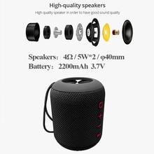 цена на Wireless Bluetooth Speaker X9 Portable Loudspeaker 10W Sound System 3D Stereo Music Surround Subwoofer Soundbar Computer Speaker