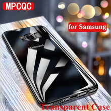 Transparent Soft Silicon TPU Cases for Samsung Galaxy A6 A8 S8 S9 Plus S10 J3 J4 J6 J7 J8 A5 A7 Note 8 9 Phone Back Cover case