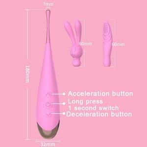 Image 5 - G Spot Vibrador Poderoso alta freqüência Vibradores lamber Clitóris Estimulador Masturbador massagem Brinquedos Do Sexo para Mulheres Adultas Sex Toys