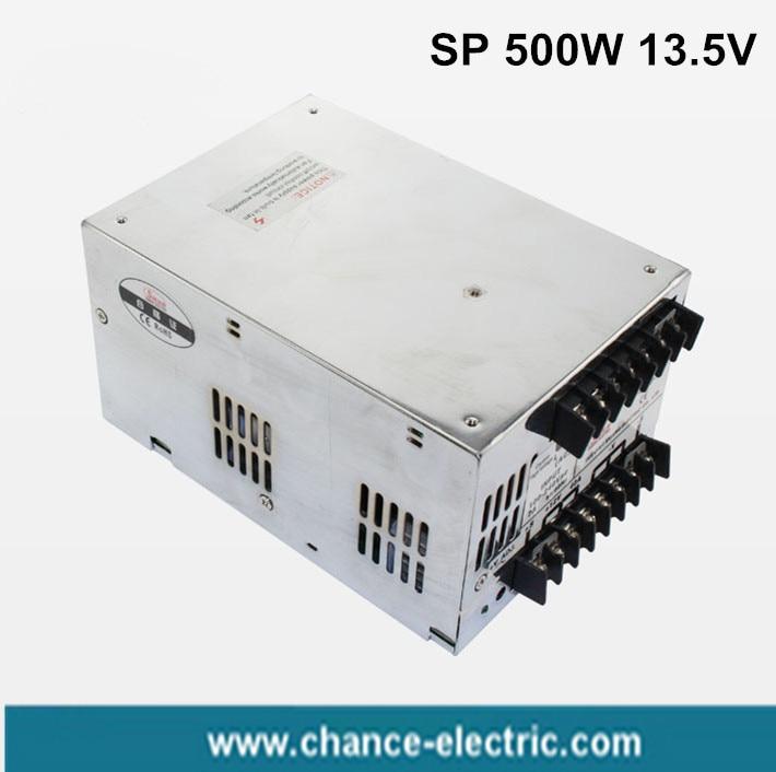 купить pfc power adjustable single output 13.5v Switching Power Supply SP 500W with Fan ac-dc for LED street lamp display по цене 3386.28 рублей