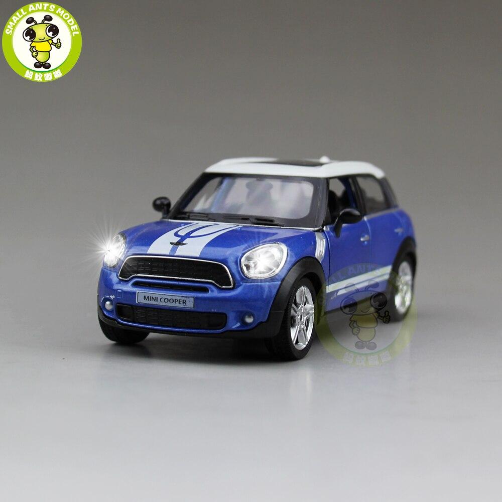 5 дюймов РМЗ City MINI COOPER S Countryman литья под давлением модели автомобиля игрушки для мальчиков и девочек подарок отступить звук освещения ...