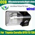 Câmera do carro para Toyota Corolla BYD F3 F3R Pixels728 * 582 CCD HD câmera de visão traseira do carro de estacionamento visão noite câmera