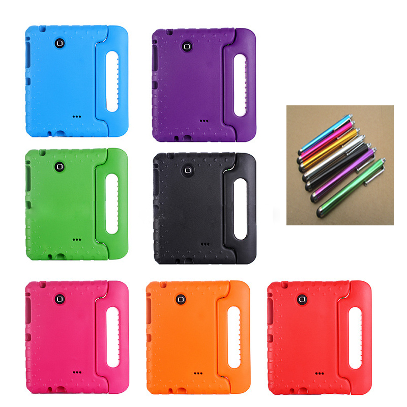 NEW for Samsung Galaxy Tab 4 8.0 Shockproof Case Light Weight Kids Case Stand Case For Samsung Galaxy Tab 4 8-inch SM-T330 T331 lovemei shockproof gorilla glass metal case for galaxy note4 n9100