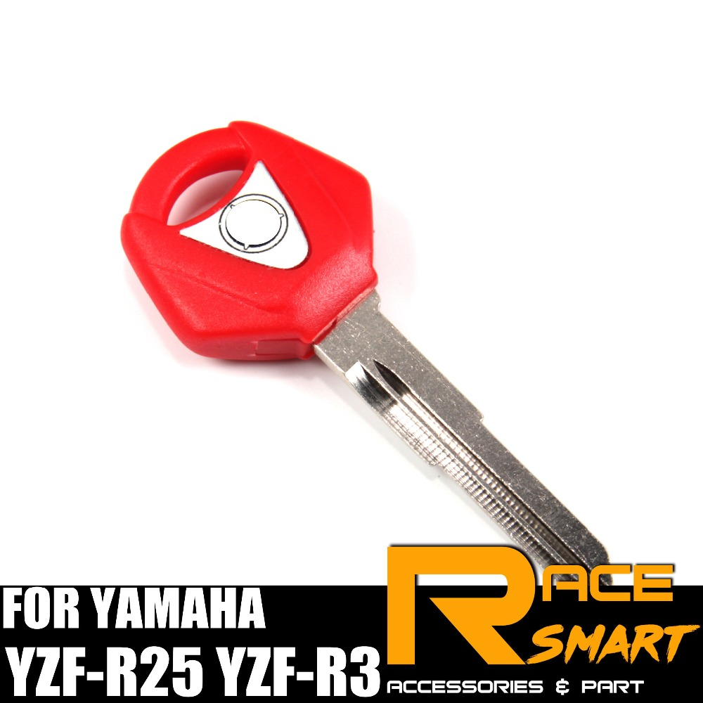 Motorcycle Uncut Blank Key For YAMAHA YZF-R3 Blade Keys YZF-R25 YZFR3 YZF R3 YZF R25 YZFR25