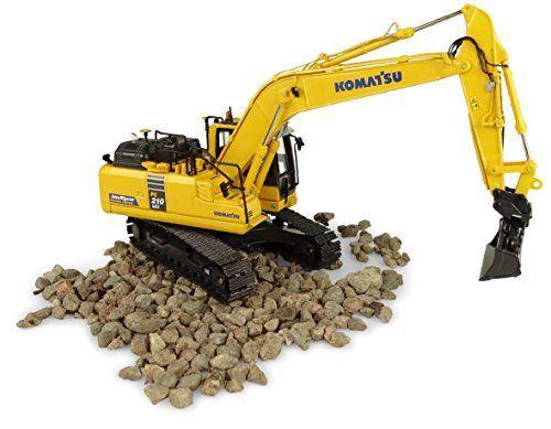 UH8123 1:50 Komatsu PC210LCI 11 อัจฉริยะ Excavator toy-ใน โมเดลรถและรถของเล่น จาก ของเล่นและงานอดิเรก บน   1